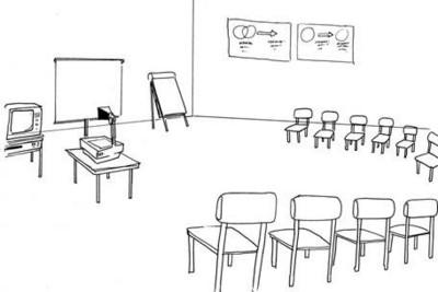 تجهيز قاعة العرض والترتيبات والموصفات وطريقة التظيم سكشن 2