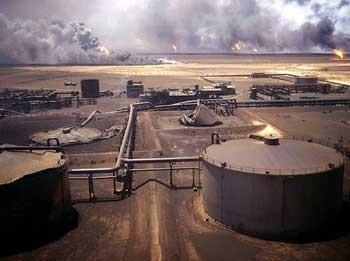 التلوث النفطي